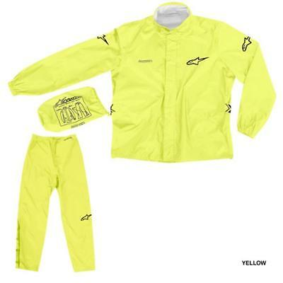 Alpinestars Quick Seal Out - ALL-WEATHER Riding - Jacke und Hose - gelb fluo