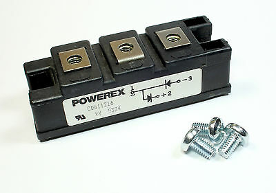 Powerex Dual Isolated Diode, POW-R-BLOK, 800v, 160amps, CD611216