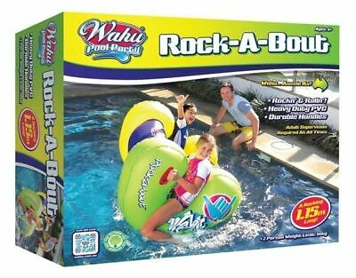 New Wahu Pool Party Rock-A-Bout Bma913 Inflatable Pool Toy