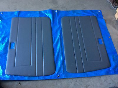 Toyota Landcruiser 75 series HZJ79 FZJ79 Grey door card Troop Carrier Ute Pair