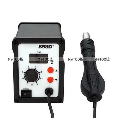 ATTEN AT 858D Hot Air Rework Soldering Station LED Display 3 Nozzles for PCB BAG
