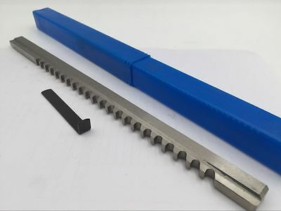 C Push Type 3/16 Inch Size Keyway Broach Cutter Tool CNC Metalworking