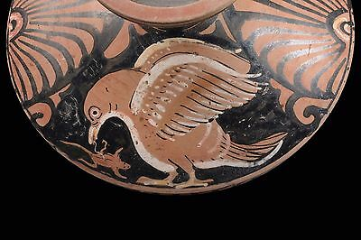 Ancient Greek Red-Figure Pottery Lekanis - 350 BC • CAD $11,970.00