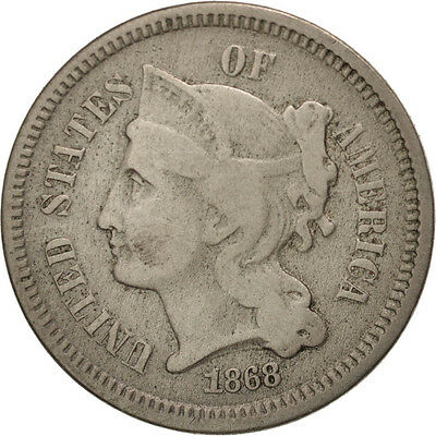 [#97777] United States, Nickel 3 Cents, 1868, U.S. Mint, Philadelphia