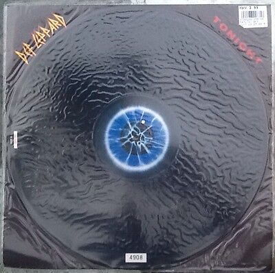 """DEF LEPPARD - Tonight (numbered 12"""" Single) (Picture Disc) Excellent condition"""