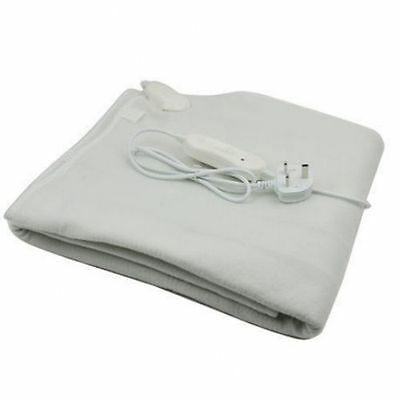 DOUBLE WASHABLE ELECTRIC HEATED UNDER BLANKET 107x120CM