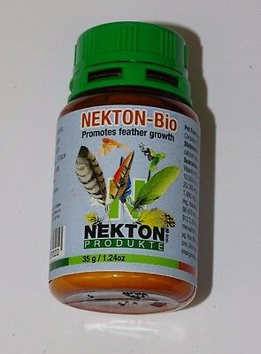 Nekton Bio Vitamin Supplement for all Birds Feathers Moulting Plumage Re growth