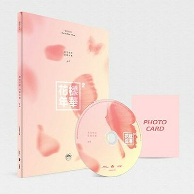 In The Mood For Love BTS PT.2 4th Mini Album Peach Ver CD+Photo Book+Card