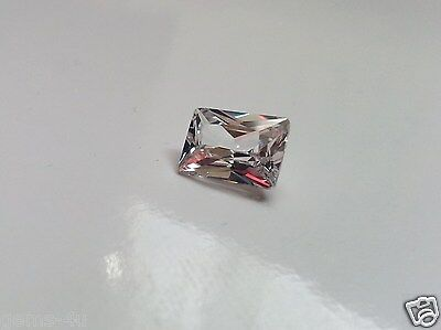 Lab Created Russian Baguette 8 X 6Mm Diamond Fast & Free Delivery