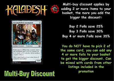 MTG Kaladesh KLD Choose your Common Foil Card (A-M) New - Buy 2 or more save 25%