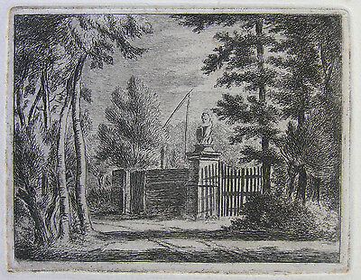 J. C. Gaal ´die Pforte Mit Dem Löwen; The Gate With The Lion´ H.&l. 28, 1851