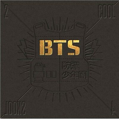 BTS 1st Single Album Cool 4 Skool  CD+Booklet kpop music
