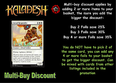 MTG Kaladesh KLD Choose your Uncommon FOIL Card (A-G) - New Buy 2 save 25%