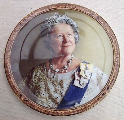 Limited Edition Plate. Queen Mother
