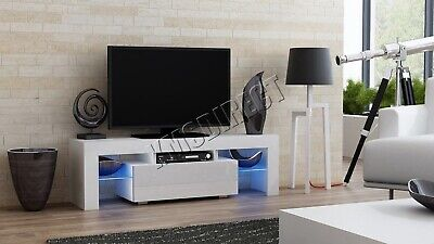 Westwood Modern LED TV Unit Stand Cabinet – High Gloss Doors Matte Cabinet TVC06
