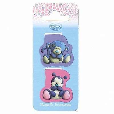 Me To You Blue Nose Friends Collectors Magnetic Bookmark - Coco & Dot