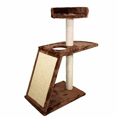 "50"" Cat Tree Tower Condo Furniture Scratch Post Kitty Play House Sisal"