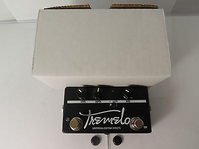 LOVEPEDAL CUSTOM TAP TREMOLO EFFECTS PEDAL w/BOX FREE SHIPPING!!