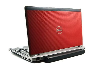 DELL Latitude E6220 E6230 Cover Laptop Decal LID VINYL Sticker 4D Candy Red