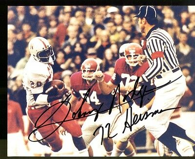 Johnny Rodgers Signed 8x10 Photo Autographed Heisman Nebraska 30701