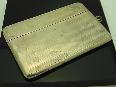 Vintage Foster & Bailey Sterling 925 Monogrammed Chatelaine Art Deco Card Case