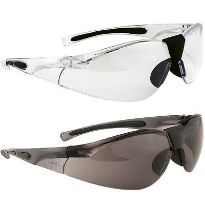 Portwest Lucent Safety Glasses / Spectacles Clear or Smoke Tint  PW39