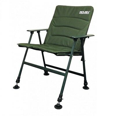 CK Comfort Padded Carp Recliner Chair With Arms Fishing  Carp Fishing