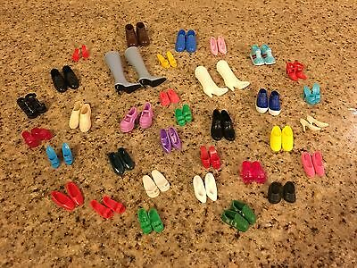 Barbie shoe lot #2  mixed assortment OLD AND NEW