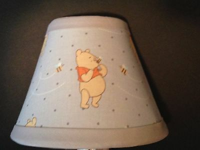 Winnie the Pooh Gray Fabric Nursery Night Light