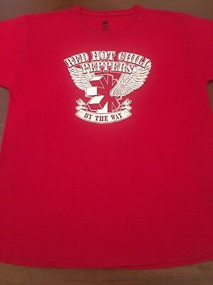 Red Hot Chili Peppers : By The Way / Concert Shirt