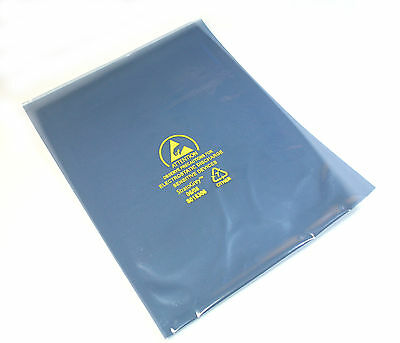 "24pcs StratoGrey ESD Anti-Static Shielding Bags, 5 x 7"", Open-Top"