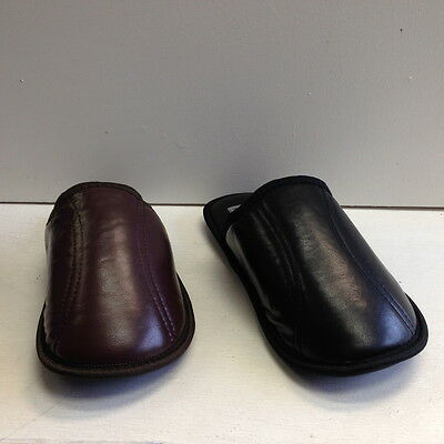 Men's House Slippers Comfort Cushioned Fleece Lined Loafer Warm Shoes Sz 7/8-12