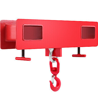 2T 4400LBS Forklift Lifting Hook Tine Hook Mobile Crane High Quality