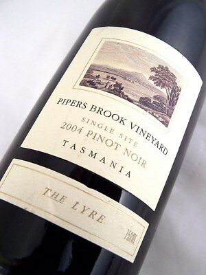 2004 PIPERS BROOK VINEYARD The Lyre Pinot Noir Isle of Wine