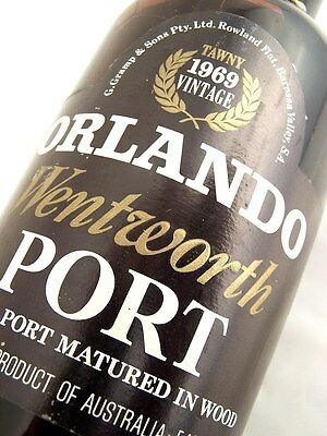 1969 ORLANDO Wentworth Tawny Port A Isle of Wine