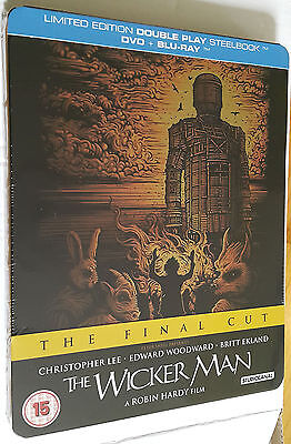 The Wicker Man - The Final Cut -  Limited Edition Steelbook Blu-Ray DVD Sealed