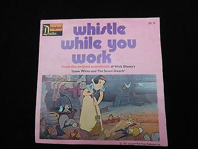 Whistle while you work / Heigh Ho - Walt Disney's Snow White  - 1971