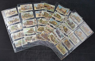 WD & HO Wills Cigarette Cards: Military Motors (1916) 49/50 in Clear Plastic