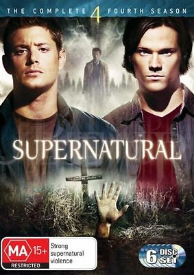Supernatural : Season 4 DVD, 2010, 6-Disc Set New & Sealed R4