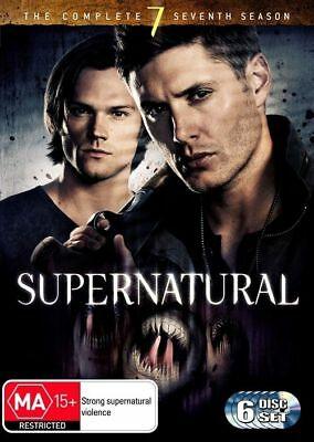 Supernatural : Season 7 (DVD, 2012, 6-Disc Set)