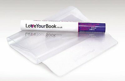 Clear Plastic Adjustable Book Cover Protective Paperback Jacket/Sleeve - *H198mm