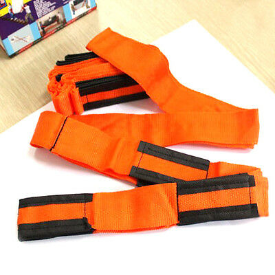 Useful Forearm Forklift Lifting and Moving Straps to easily carry furniture
