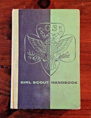 Vintage Hard Cover Girl Scout Handbook Copyright 1953