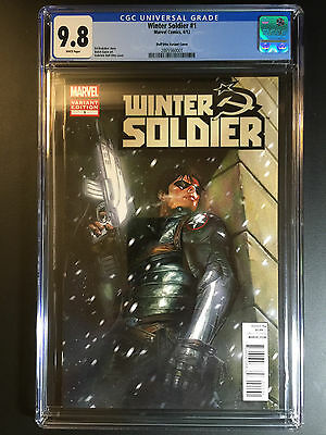 CGC 9.8 - Winter Soldier #1 - Dell'Otto Variant Cover - Avengers