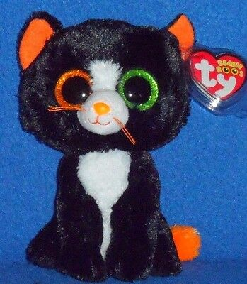 """TY BEANIE BOOS BOO'S - FRIGHTS the 6"""" CAT- MINT with MINT TAGS"""