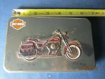 Harley Davidson Motorcycles Playing Cards Unused in Tin Unopened