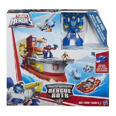 New Playskool Heroes Transformers Rescue Bots - High Tide Rescue Rig B2054