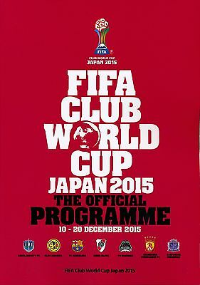 FIFA CLUB WORLD CUP 2015 Brochure AND Final programme
