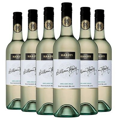 William Hardy Sauvignon Blanc 2014 (6 x 750ml), Adelaide Hills, SA. White Wine