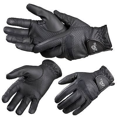 Lag Perforated Adults Gloves Black